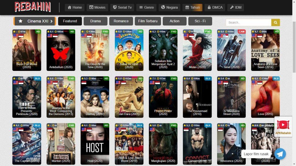5+ Link Situs Nonton Film Sub Indo Pengganti Lk21 & BioskopKeren 2021