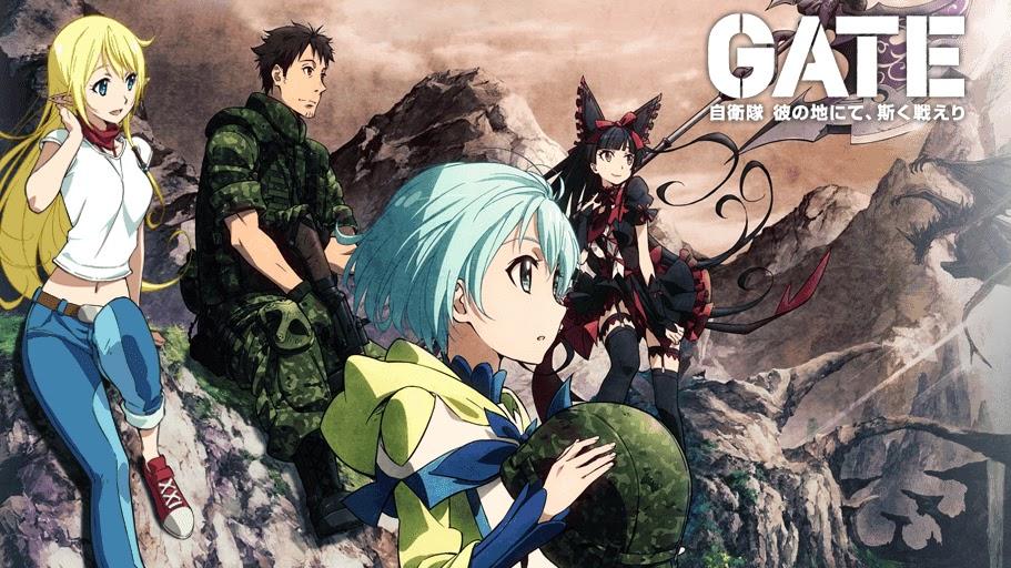 5 Rekomendasi Manga Militer Terbaik